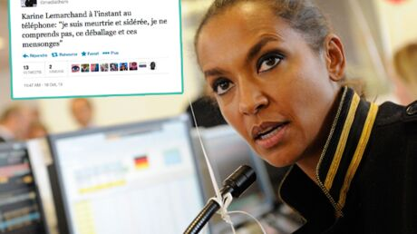 Karine Le Marchand dénonce les «mensonges» de Lilian Thuram