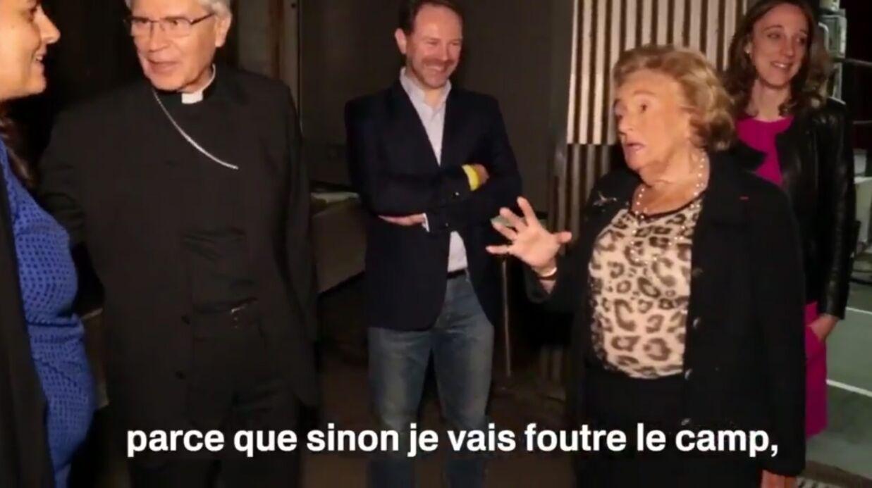 VIDEO Bernadette Chirac hausse le ton dans les coulisses d'une émission télé