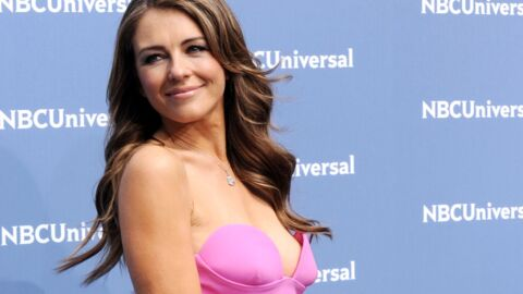 PHOTO Elizabeth Hurley torride dans son bikini rouge