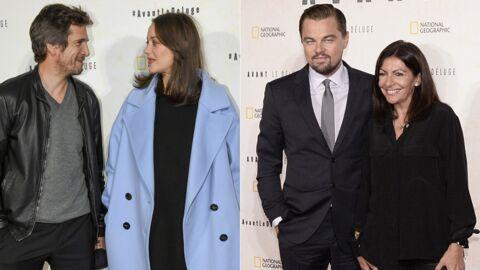 PHOTOS Marion Cotillard et Guillaume Canet complices à l'avant-première de leur ami Leonardo DiCaprio