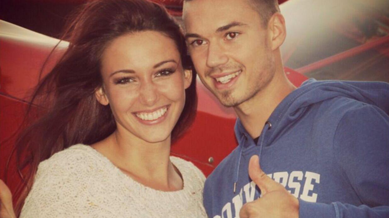 PHOTO Delphine Wespiser (Miss France 2012) et Jérôme célèbrent leurs sept ans d'amour