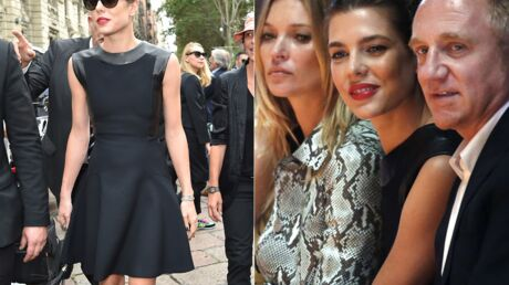 PHOTOS Charlotte Casiraghi glamour en diable à Milan