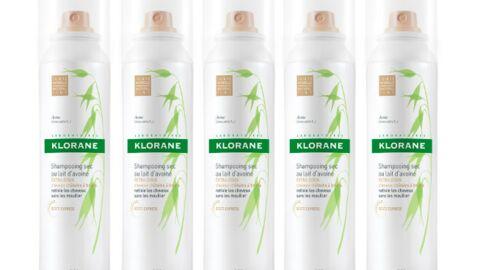 Les cheveux foncés ont leur shampooing sec Klorane