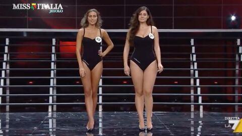 Jugée trop ronde par certains, la dauphine de Miss Italie essuie de commentaires acerbes