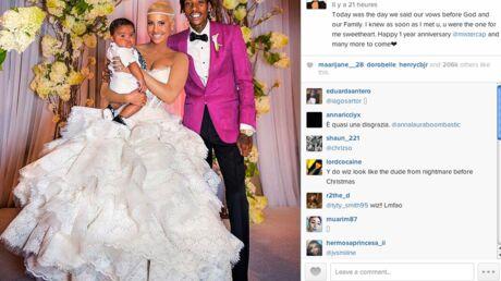 Amber Rose partage des photos de son mariage avec Wiz Khalifa