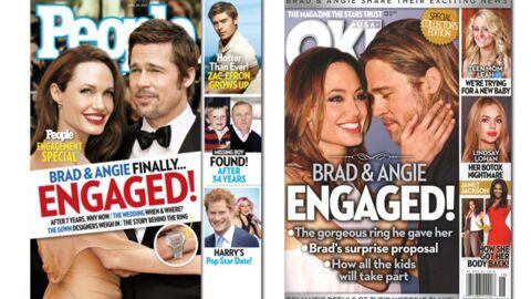 En direct des US: Brad et Angelina, on se prépare pour la noce du siècle…