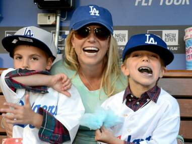 Britney Spears emmène ses fils supporter les Dodgers