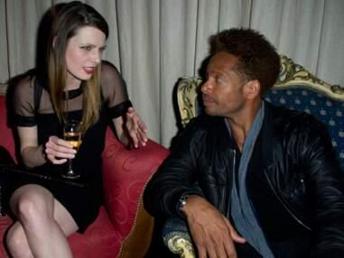 Elodie Frégé et Gary Dourdan à la présentation d'une collection de lingerie