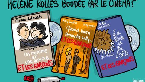 Louison a croqué: Hélène Rollès snobée par le cinéma