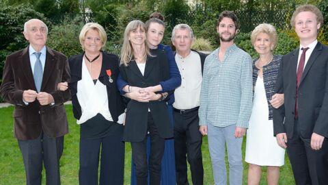 DIAPO Marina Carrère d'Encausse en famille pour recevoir sa légion d'honneur