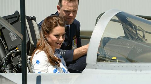 PHOTOS Le duc et la duchesse de Cambridge s'offrent un petit tour en avion