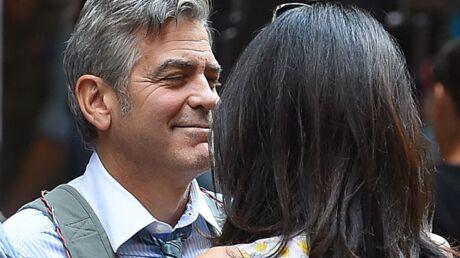 DIAPO George Clooney: La surprise de sa femme Amal sur un tournage