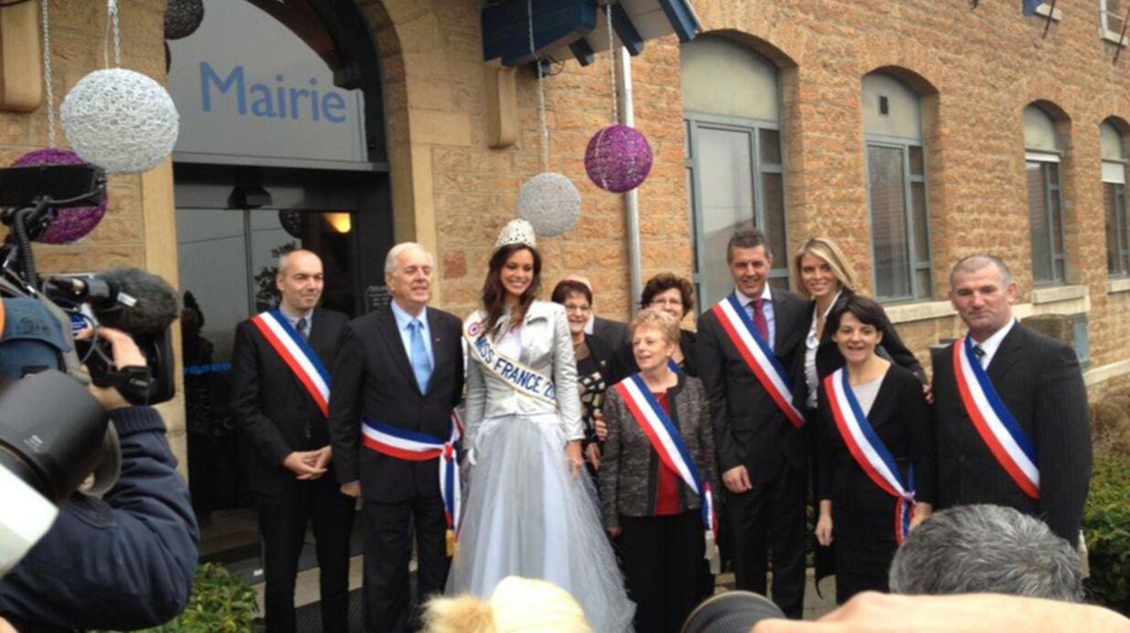 PHOTOS Le retour triomphal de Miss France 2013 en Bourgogne