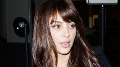 LOOK Kim Kardashian opte pour la frange