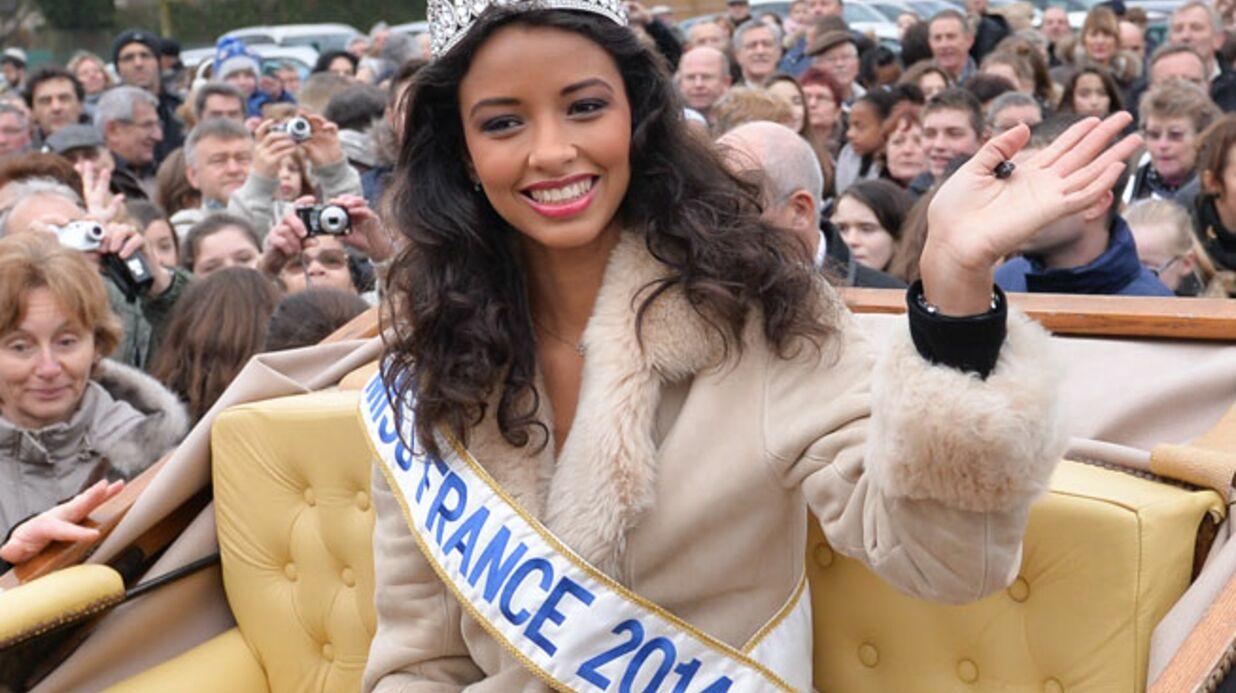PHOTOS Miss France 2014: Flora Coquerel émue aux larmes pour son retour chez elle