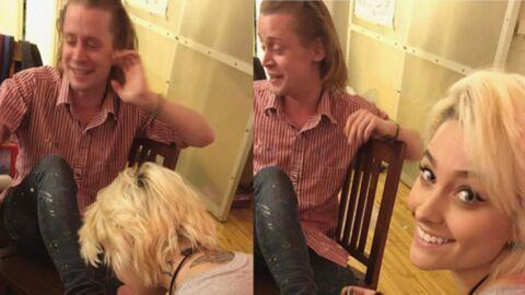 Paris Jackson passe un moment avec son parrain Macaulay Culkin… en lui faisant une pédicure