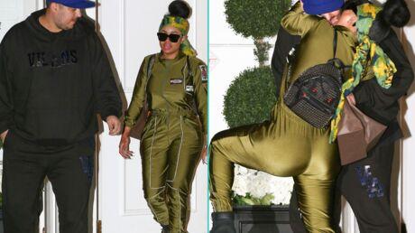 PHOTOS Rob Kardashian et Blac Chyna échangent un baiser interdit aux moins de 18 ans en pleine rue