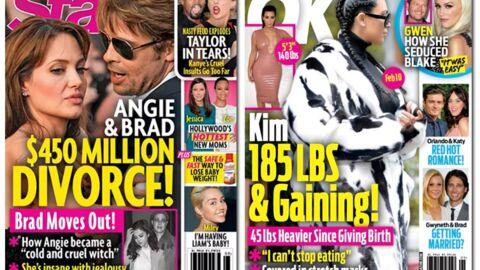 En direct des US: crise de jalousie chez Brad Pitt et Angelina Jolie