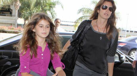 Cindy Crawford: sa fille de 10 ans devient mannequin