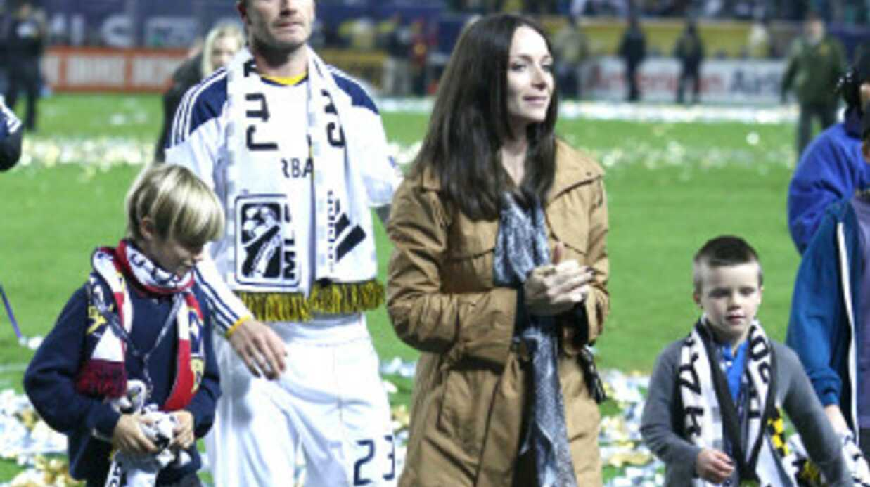 David Beckham expulsé d'un match de foot entre enfants