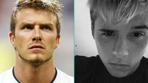 PHOTO Brooklyn Beckham se décolore les cheveux comme son père il y a 13 ans