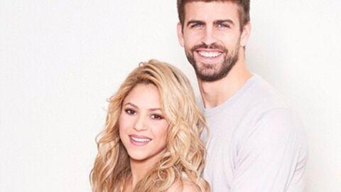 PHOTO Shakira affiche son gros baby bump en posant avec Gérard Piqué