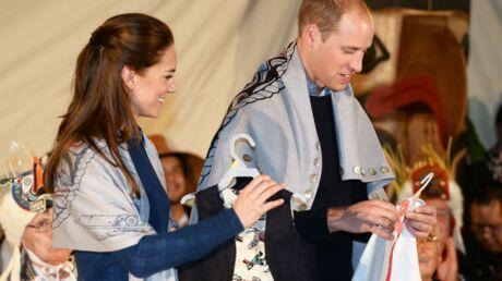 Kate Middleton et le prince William: découvrez les cadeaux trop bizarres qu'ils reçoivent