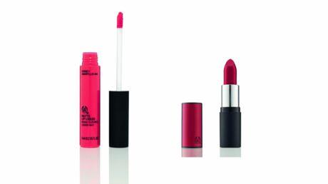 Découvrez les rouges à lèvres liquides et mats de The Body Shop