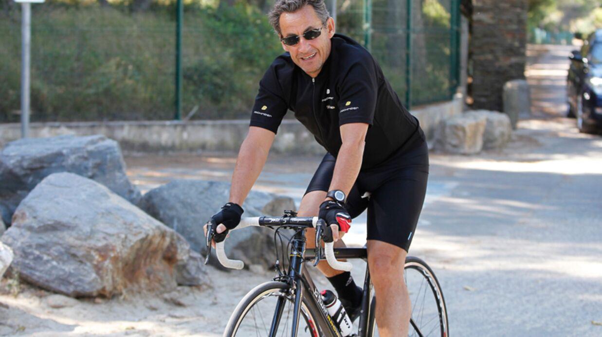 DIAPO Nicolas Sarkozy–Carla Bruni: à deux ou quatre roues?