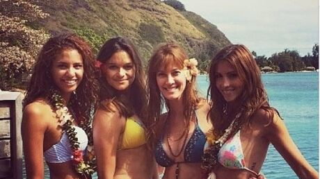 DIAPO Les Miss France s'éclatent à Tahiti !