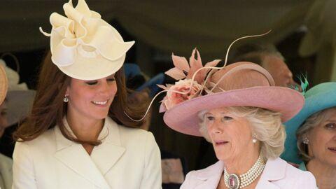PHOTOS Kate et Camilla très complices pour admirer leurs princes