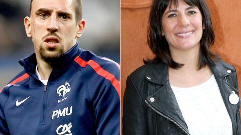 Estelle Denis tacle Franck Ribéry sur Twitter