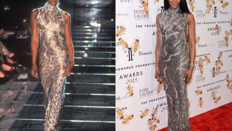 PHOTOS Naomi Campbell ressort une robe portée il y a 17 ans: comme si le temps s'était arrêté
