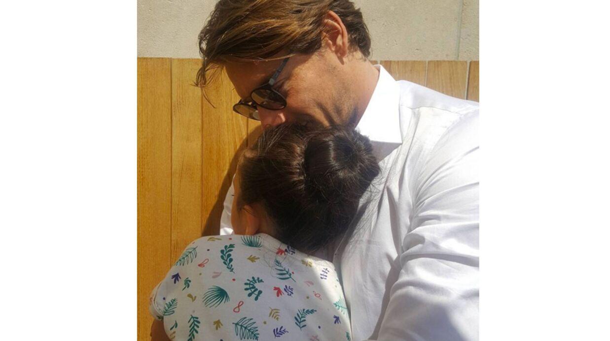 Camille Lacourt partage une adorable photo avec sa fille pour la fête des pères
