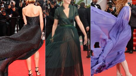 PHOTOS Cannes : les actrices malmenées par le vent sur le red carpet