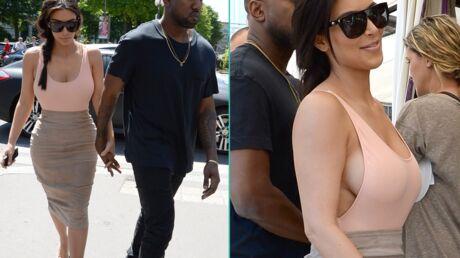 PHOTOS Kim Kardashian très sexy à Paris