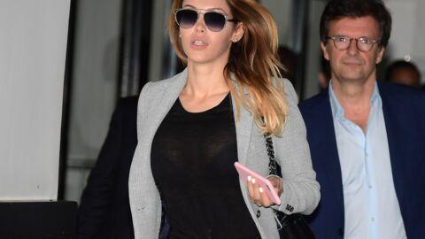 PHOTOS Nabilla: lunettes de soleil et top transparent, son look inattendu à son procès