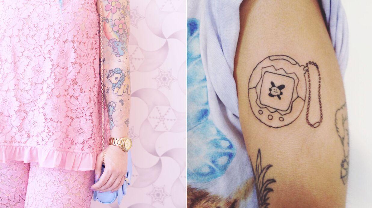 PHOTOS 30 tatouages inspirés des années 90 repérés sur Instagram