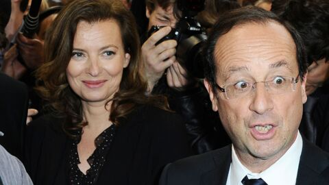 PHOTOS François Hollande et Valérie heureux au Salon du livre