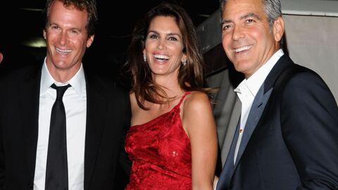 George Clooney: la nuit où il s'est retrouvé au lit avec Cindy Crawford