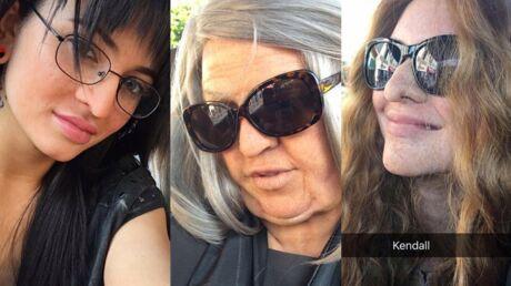 PHOTOS Déguisées, Khloe Kardashian, Kylie et Kendall Jenner sont méconnaissables