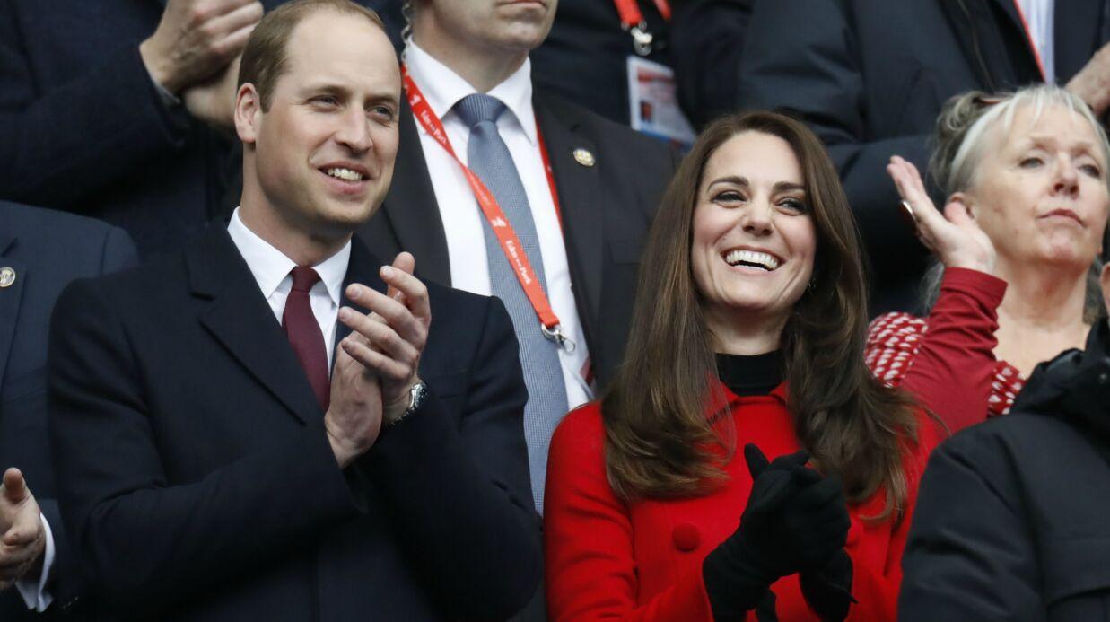DIAPO Kate Middleton et le prince William en amoureux au Stade de France