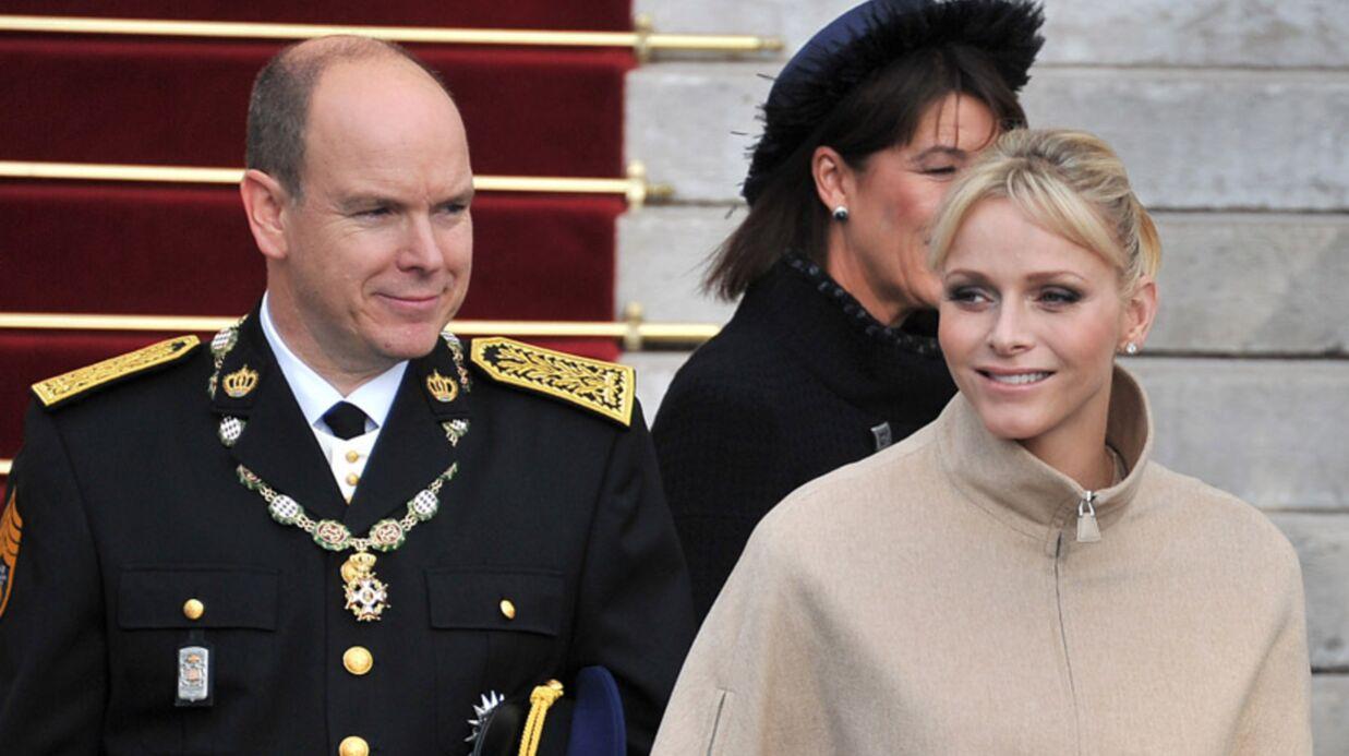 PHOTOS Albert de Monaco et Charlène font la fête (Nationale)