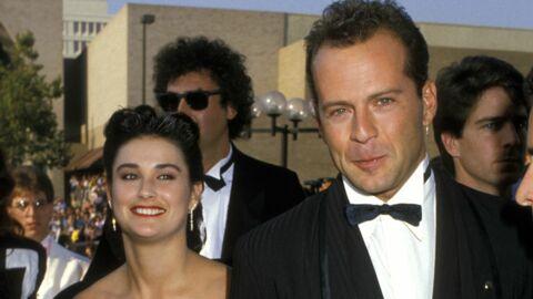 #1987 Bruce Willis et Demi Moore: le mariage!