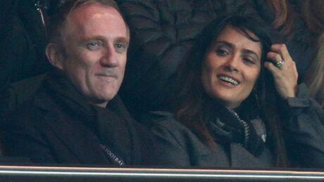DIAPO Salma Hayek et François-Henri Pinault déchaînés au stade