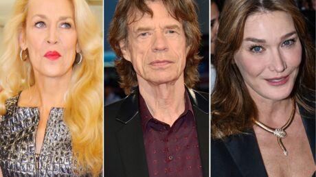 Rancunière, Jerry Hall en veut encore à Carla Bruni de lui avoir piqué Mick Jagger