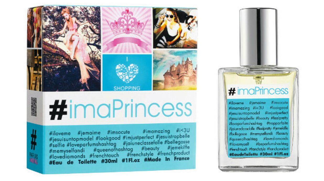 Parfumée et connectée avec #imaPrincess
