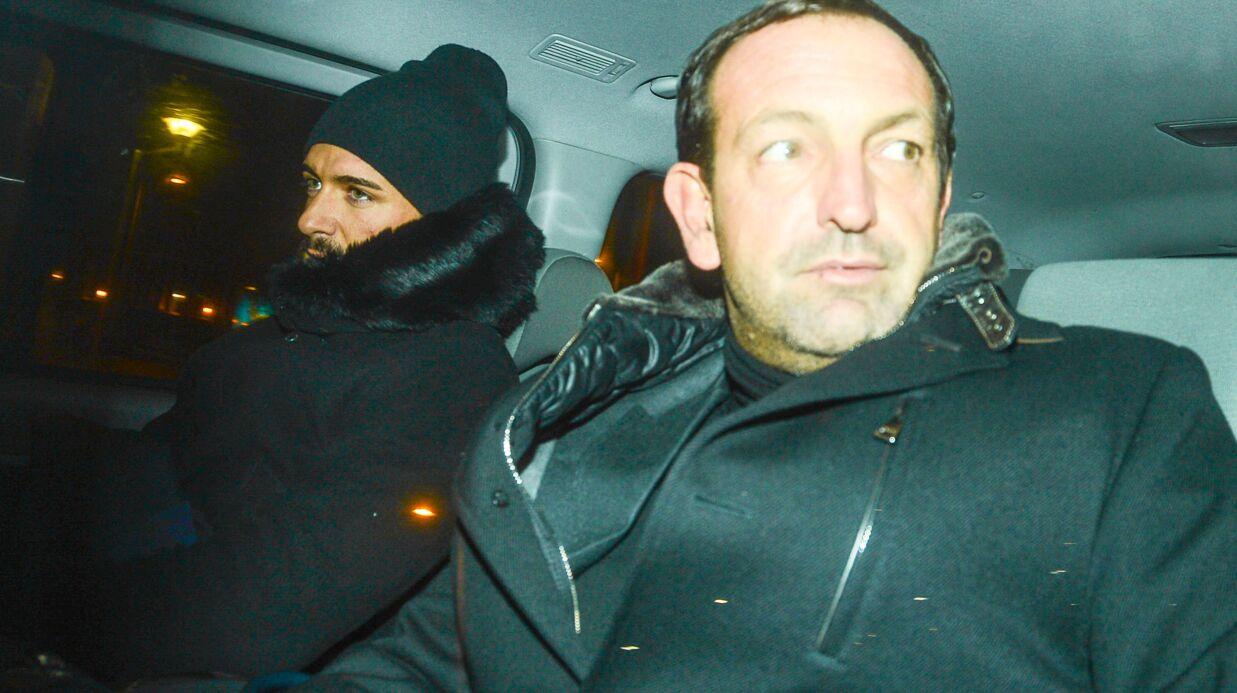 PHOTOS Thomas Vergara quitte le bureau du juge d'instruction après 7 heures d'audition