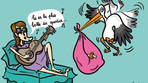 Accouchement terminé: la fille de Carla Bruni et Nicolas Sarkozy est née!