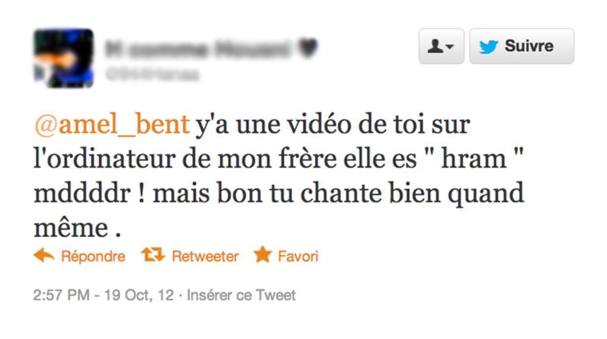 Amel Bent réagit aux vidéos volées où elle apparaît en lingerie